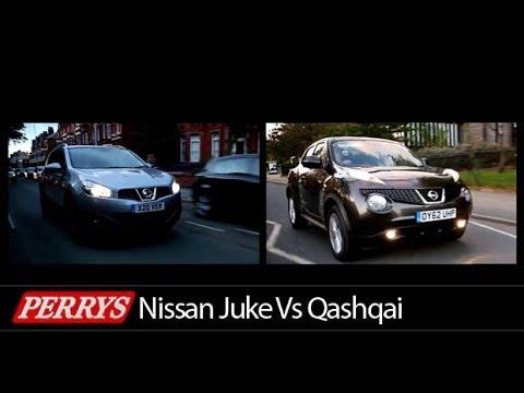 Nisssan Juke Vs Nissan Qashqai