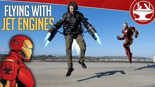 Video Learning to Fly Like IRON MAN! MP3, 3GP, MP4, WEBM, AVI, FLV Mei 2019