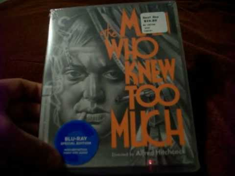Criterion BluRay Unboxing Of The Man Who Knew Too Much [1934] By Alfred Hitchcock