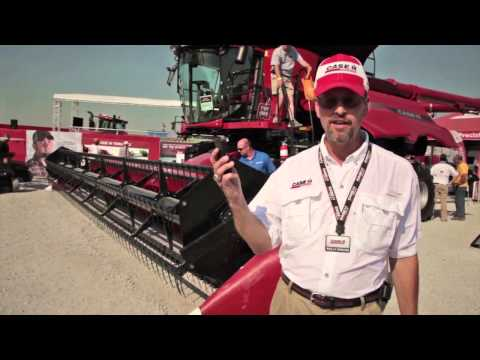 0 2013 Case IH Axial Flow Combines Feature Redesigned Cab