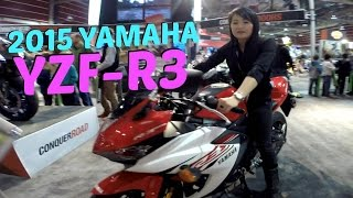 8. 2015 Yamaha YZF-R3, Overview and Info