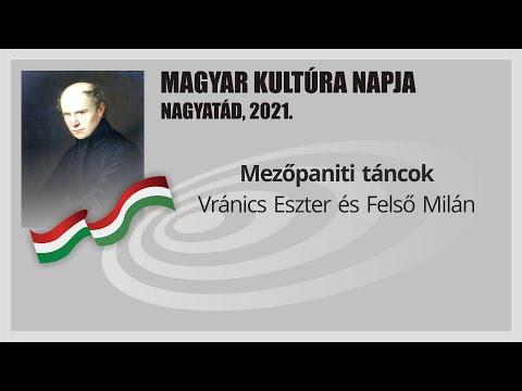 A Magyar Kultúra Napja Nagyatádon 2021.:  Mezőpaniti táncok - Vránics Eszter és Felső Milán
