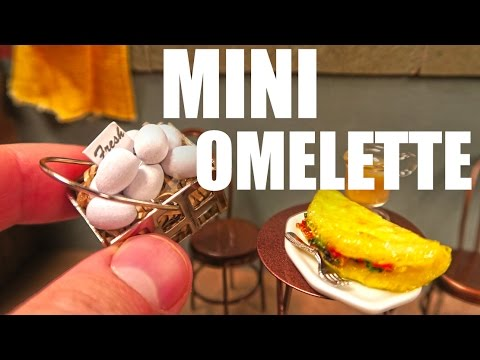 The World s Smallest Omelette
