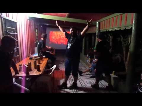 Guerreiros do Rock Guaraci 06/02/2016 - A minhoca que acendia o rabo / Beijos de corpo!!!
