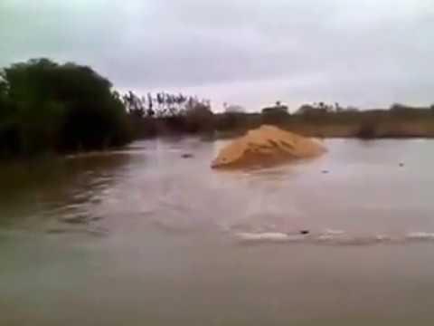 Rio Banabuiú Lagoa Grande Morada Nova Ceará enchente