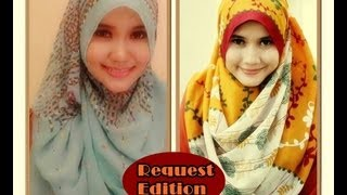 Pashmina Hijab Tutorial For Casual And Formal | Basic Style | Running Ramdhan | Part #17
