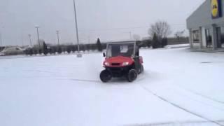 10. KYMCO UXV 500 snow drift orestiada