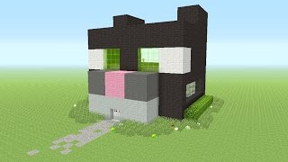 Minecraft - Awesome CAT!!! Survival House #41