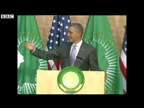 ETHIOPIE:  Barack Obama demande aux dirigeants africains de ne plus s'accrocher au pouvoir