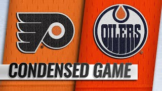 12/14/18 Condensed Game: Flyers @ Oilers by NHL