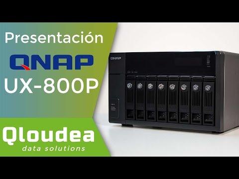 UX-800P Unidad de expansión QNAP de 8 discos duros