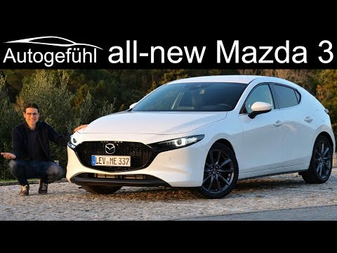 All-new Mazda3 FULL REVIEW hatch vs sedan comparison Mazda 3 2020 - Autogefühl
