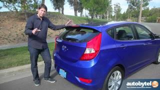 2012 Hyundai Accent Test Drive&Car Review