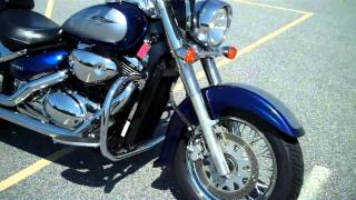 4. 2008 Suzuki Boulevard C50 demo ride  stock #9-0202