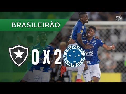 Botafogo 0-2 Cruzeiro (Campeonato Brasileiro 2019)...
