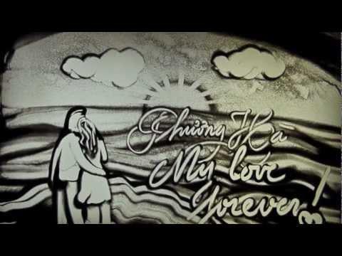 Tình yêu lãng mạn tranh cát