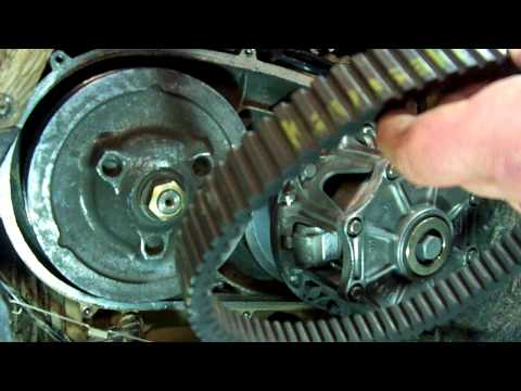 praire - CHANGEING THE DRIVE BELT ON A KAWASAKI PRAIRE 700,SO SIMPLE A CAVEMAN COULD DO IT.