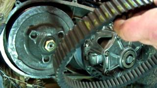 10. ATV DRIVE BELT REPLACEMENT ON A 2004 KAWASAKI PRAIRE 700 4X4 (NO TOOLS NEEDED)