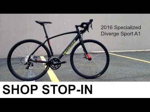 2016 Specialized Diverge Sport A1: Shop Stop-In