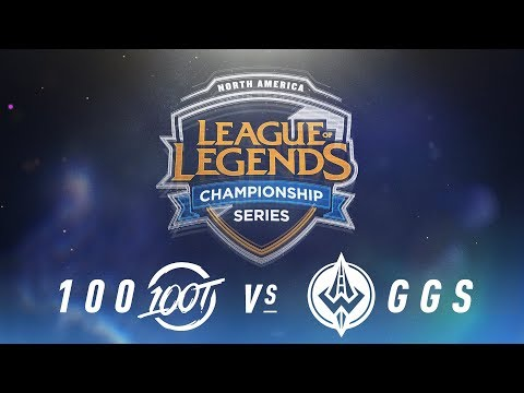 100 vs. GGS - Week 8 Day 1 | NA LCS Spring Split | 100 Thieves vs. Golden Guardians (2018)