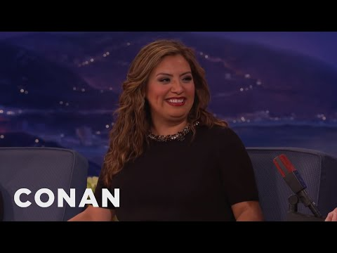 "Cristela Alonzo's ""Sons Of Anarchy"" Role  - CONAN on TBS"