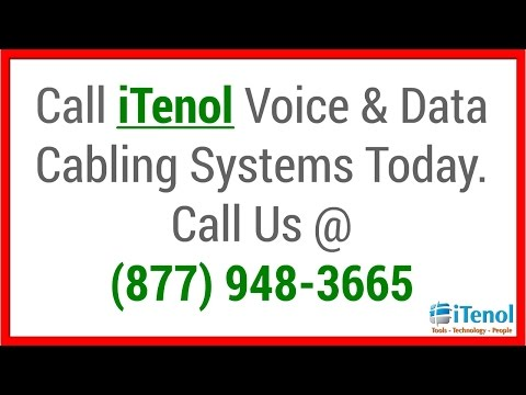 Voice   Data   Structured   Network   Phone   Cabling   Houston   Tx - (877) 948-3665