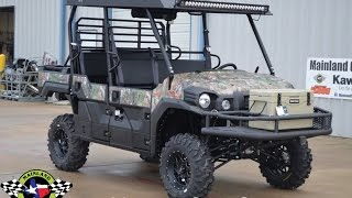 8. $20,999:  2017 Kawasaki Mule Pro FXT EPS Camo Aluminum Top, Front Rack, LED Light Bars