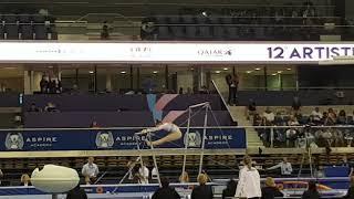 Nina Derwael Finale Damesbrug World Cup Doha 2019