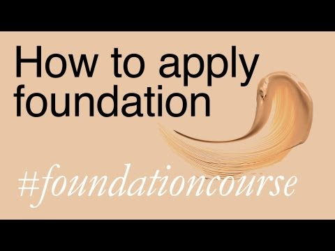 Apply - Watch this video on my site http://www.lisae.me.uk/25672 for product links, tips and more info. This, the 3rd film in my #foundationcourse series, is a basic...