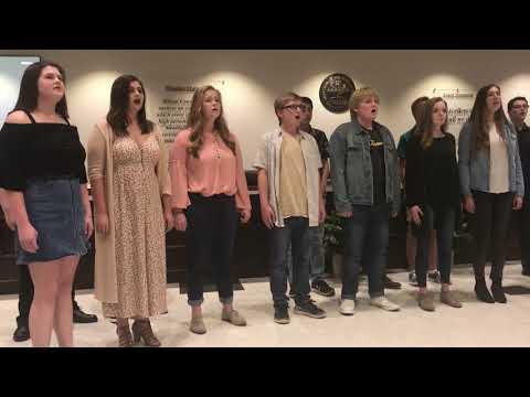 Video: Lebanon High School chamber choir Wilson County School Board TN