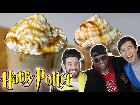 We made BUTTERBEER from Harry Potter with sWooZie!