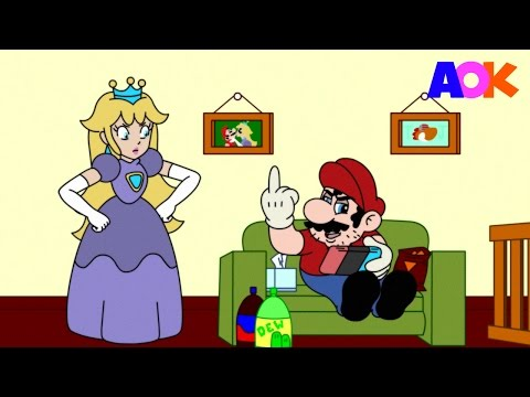 SUPER MARIO - AFTER THE GAME