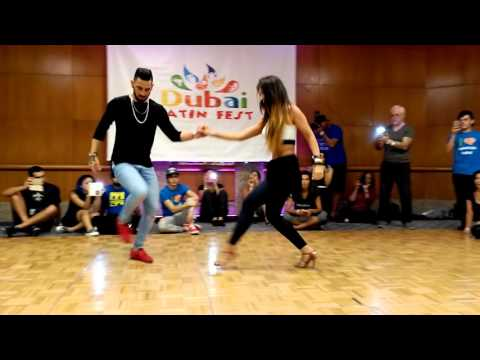 Daniel & Desiree - Bachata hot moves @ DLF16 (видео)