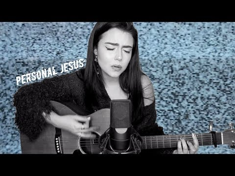 "Johnny Cash  ""Personal Jesus"" Cover by Violet Orlandi"