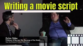 Revenge of the Mask - Writing a movie script with a partner - interview w/ Dylan Sides
