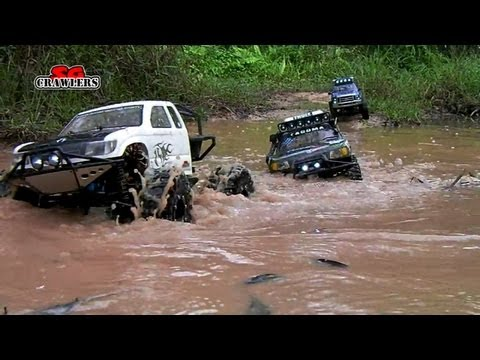 Download 6 RC Trucks Scale offroad 4x4 adventures Wroncho scx10 Betty B-17 honcho Ford F150 Land Cruiser HD Mp4 3GP Video and MP3