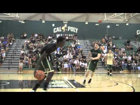 Cal Poly Men's Basketball 2013 Dunk Contest