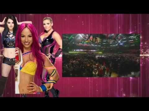 WWE WRESTLEMANIA 32 TRIPLE THREAT for WOMEN CHAMPIONSHIP