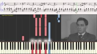 Двое в кафе - М. Таривердиев (Ноты и Видеоурок для фортепиано) (piano cover)