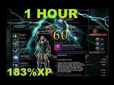 Neverwinter LVL 60 IN 1 HOUR (видео)