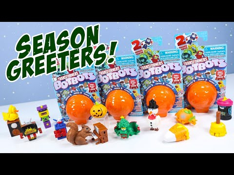 Transformers BOTBOTS Series 3 Season Greeters to You! Hasbro