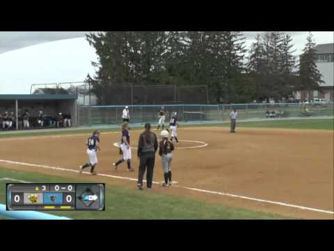UMBC Softball vs Maine Highlight's 5/7/16 Highlights