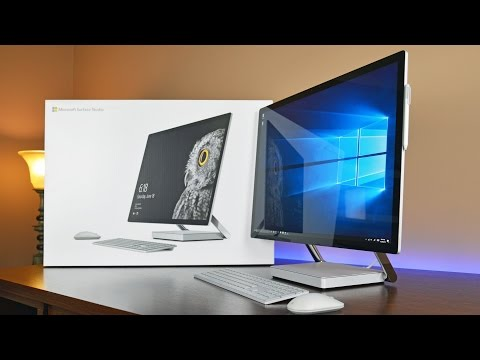 Microsoft Surface Studio: Unboxing & Review