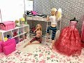 Barbie Bedroom Morning Routine Friend! BunkBeds!