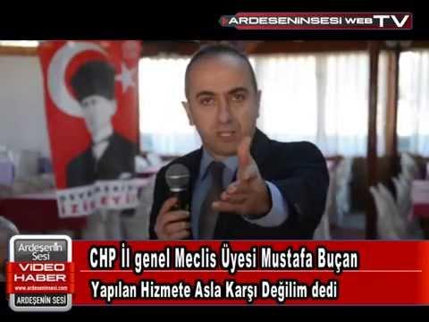 CHP İl genel Meclis Üyesi Mustafa Buçan