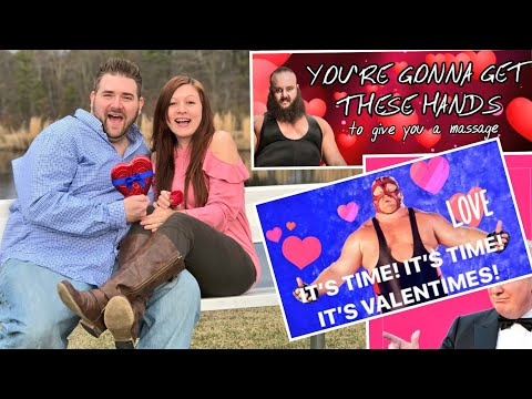 EMBARRASSING PHOTOSHOOT IN PUBLIC! FUNNY VALENTINES DAY CARDS! VISITING SUPERGRAM!