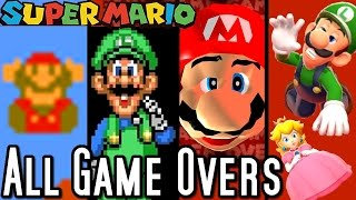 Nonton Super Mario All Game Over Screens 1985 2015  Wii U To Nes  Film Subtitle Indonesia Streaming Movie Download