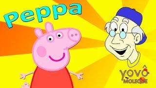 Peppa Pig português - Peppa Pig em Português - Vovô Moleque - N 112 - Top 10 personagens Peppa