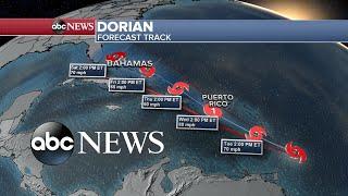 Martinique, St. Vincent, Barbados, Puerto Rico and St. Croix: Tourists bracing for Dorian