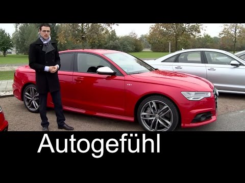 2015/2016 Audi S6 & Audi A6 Facelift test drive REVIEW sedan & Avant – Autogefühl